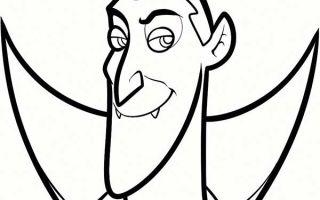 Как нарисовать графа Дракулу карандашом