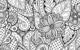Красивые и необычные картинки с узорами для срисовки карандашом