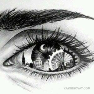 Черно-белые рисунки для срисовки
