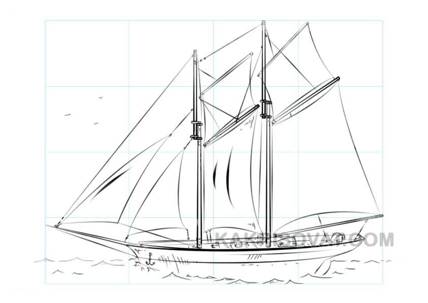 рисунки на тему алые паруса