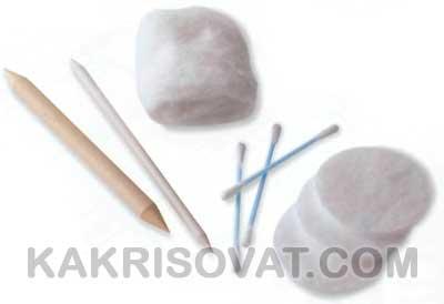 Инструменты для растушевки карандаша
